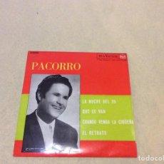 Discos de vinilo: PACORRO - MUY NUEVO . Lote 194628763