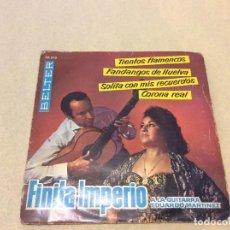 Discos de vinilo: FINITA IMPERIO . Lote 194629098