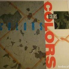 Discos de vinilo: ORIGINAL MOTION PICTURE SOUNDTRACK-COLORS- RAP, HIP HOP. Lote 194629292