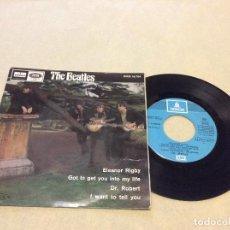 Discos de vinilo: THE BEATLES - REEDICION CON LABEL AZUL CLARO , BUEN ESTADO - VER FOTO . Lote 194629596