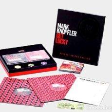 Discos de vinilo: R32 - MARK KNOPFLER. GET LUCKY. EDICION ESPECIAL 2 LP + 2 CD + 2 DVD. Lote 194630363