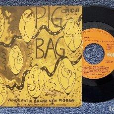 Discos de vinilo: PIGBAG - PAPA´S GOT A BRAND NEW PIGBAG / THE BACK SIDE. EDITADO POR RCA. AÑO 1.981. DISCOTECA. Lote 194630450