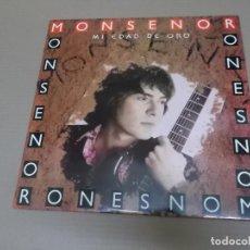 Discos de vinilo: MONSEÑOR (LP) MI EDAD DE ORO AÑO – 1990. Lote 194634527