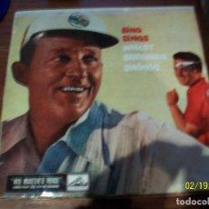 Discos de vinilo: BING SINGS WHILST BREGMAN SWINGS. Lote 194634882