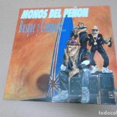 Discos de vinilo: MONOS DEL PEÑON (LP) BUSQUE Y COMPARE AÑO – 1990. Lote 194635056