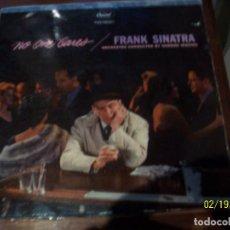 Discos de vinilo: FRANK SINATRA- NO ONE CARES. Lote 194635106