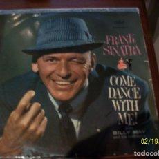 Discos de vinilo: FRANK SINATRA- COME DANCE WITH ME. Lote 194635215