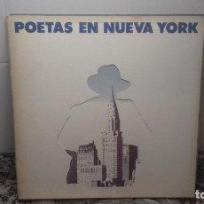 Discos de vinilo: POETAS EN NUEVA YORK. Lote 194635291