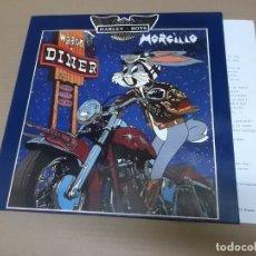 Discos de vinilo: MORCILLO (LP) DINER HARLEY BOYS AÑO – 1990 – HOJA PROMOCIONAL. Lote 194635620