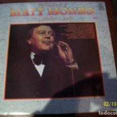 Discos de vinilo: THE VERY BEST OF MATT MONRO. Lote 194635836