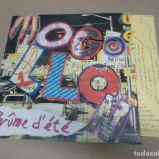 Discos de vinilo: MOGOLLON (MAXI) BRUME D'ETE +3 TRACKS AÑO – 1982 – HOJA CON LETRAS. Lote 194635903