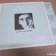 Discos de vinilo: FRANCO BATTIATO (LP) NOMADAS AÑO – 1986 – HOJA CON LETRAS. Lote 194636433