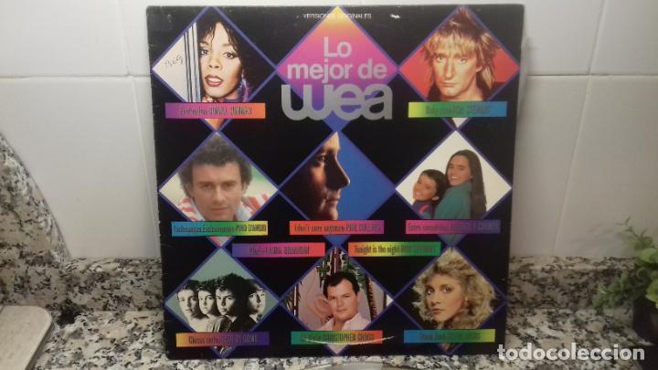 LO MEJOR DE WEA. VERSIONES ORIJINALES (Música - Discos de Vinilo - Maxi Singles - Otros Festivales de la Canción)