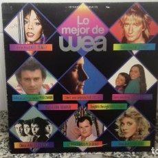Discos de vinilo: LO MEJOR DE WEA. VERSIONES ORIJINALES. Lote 194636652