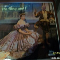 Discos de vinilo: THE KING AND I-RODGERS AND HAMMERSTEIN'S. Lote 194637452