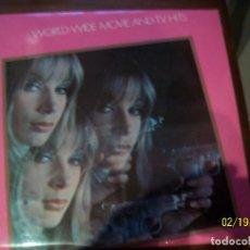Discos de vinilo: WORLD-WIDE MOVIE AND TV HITS- 2 LP. Lote 194637532