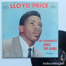 Discos de vinilo: LLOYD PRICE / MR. PERSONALITY SINGS THE BLUES 1960 !! SOUL R&B / ORIG. EDIT USA !! COLLECTORS !! EX. Lote 194637617