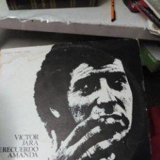 Discos de vinilo: LP VÍCTOR JARA. TE RECUERDO AMANDA. Lote 194638033