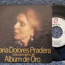 Discos de vinilo: MARÍA DOLORES PRADERA - GRANDES ÉXITOS.EDITADO POR ZAFIRO AÑO 1980 ( E.P. 4 CANCIONES) . Lote 194638322