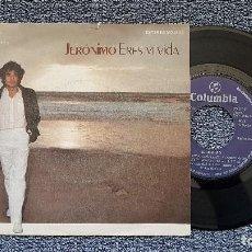 Discos de vinilo: JERÓNIMO - ERES MI VIDA / POR TÍ, SOLO POR TÍ. EDITADO POR COLUMBIA. AÑO 1.979. Lote 194638510