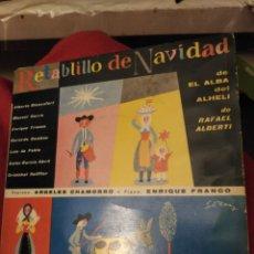 Discos de vinilo: RETABLILLO DE NAVIDAD. Lote 194638528