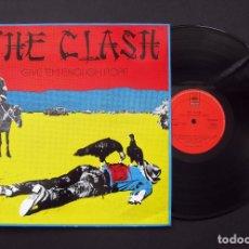 Discos de vinilo: THE CLASH – GIVE 'EM ENOUGH ROPE - VINILO. Lote 194638531