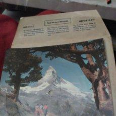 Discos de vinilo: DISCO EN UNA POSTAL DE SUIZA. Lote 194638751