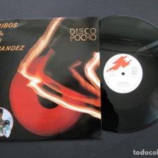 Discos de vinilo: DERRIBOS ARIAS / IÑAKI FERNÁNDEZ – DISCO POCHO - VINILO. Lote 194639710