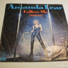 Discos de vinilo: SINGLE AMANDA LEAR. FOLLOW ME. RUN BABY RUN. ARIOLA 1978 SPAIN (PROBADO Y BIEN). Lote 194640131