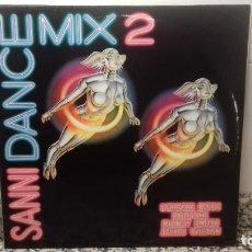 Discos de vinilo: SANNI DANCE MIX 2. Lote 194640491