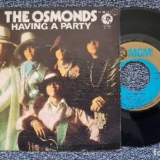 Discos de vinilo: THE OSMONDS - HAVING A PARTY / WANTED. EDITADO POR MGM. AÑO 1.975. Lote 194641842
