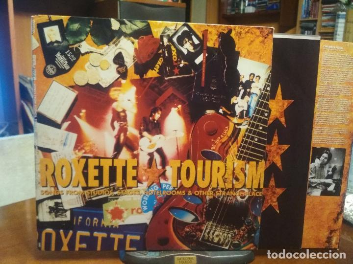 ROXETTE TOURISM LP GATEFOLD SPAIN 1992 PEPETO TOP (Música - Discos - LP Vinilo - Pop - Rock Internacional de los 90 a la actualidad)