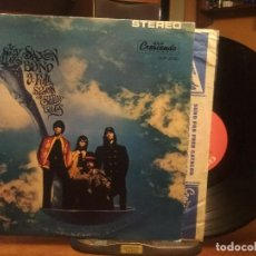 Discos de vinilo: SKY SAXON BLUES BAND A FOOL SPOON OF SEEDY BLUES LP USA 1976 PEPETO TOP . Lote 194642295