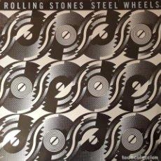 Discos de vinilo: ROLLING STONES - STEEL WHEELS. Lote 194643971