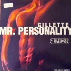 Discos de vinilo: GILLETE - MR. PERSONALITY. Lote 194644832