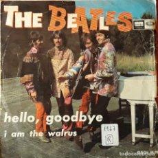 Discos de vinilo: BEATLES - HELLO, GOODBYE. Lote 194646738