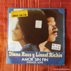 Discos de vinilo: DIANA ROSS & LIONEL RICHIE. Lote 194646775