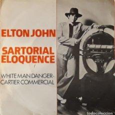 Discos de vinilo: ELTON JOHN - SARTORIAL ELOQUENCE. Lote 194646863