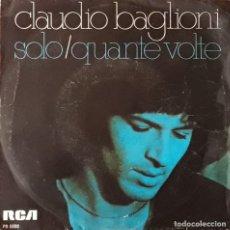 Discos de vinilo: CLAUDIO BAGLIONI - SOLO. Lote 194646865