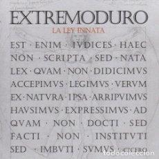 Discos de vinilo: EXTREMODURO - LA LEY INNATA - 180 GRAM VINYL - 2014 DRO RECORDS REISSUE. Lote 194647798