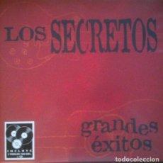 Discos de vinilo: LOS SECRETOS - GRANDES EXITOS - 2XLP - 2016 DRO RECORDS. Lote 194647871