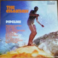 Discos de vinilo: THE CHANTAYS - PIPELINE LP 1963 (1974) EL MITICO UNICO LP DE CHANTAYS REEDITADO SURF INSTRO. Lote 194648311