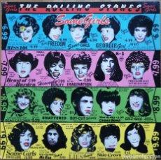 Discos de vinilo: THE ROLLING STONES – SOME GIRLS PRIMERA EDICION ALEMANA PORTADA TROQUELADA, CARAS SIN CENSURAR . Lote 194648936