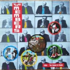 Discos de vinilo: THE MEMBERS - 1980 - THE CHOICE IS YOURS LP 1980 1ª EDICION ALEMANA -PRIMER ALBUM DE ESTUDIO PUNK. Lote 194649786