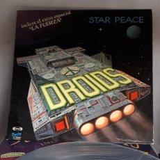 Discos de vinilo: LP DROIDS STAR PEACE BARCLAY 1978. Lote 194650442