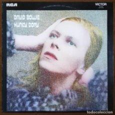 Discos de vinilo: DAVID BOWIE - HUNKY DORY LP 1972 U.K RARA EDICION NO MARCA STEREO EN LABEL (INCLUYE HOJA INTERIOR). Lote 194651790