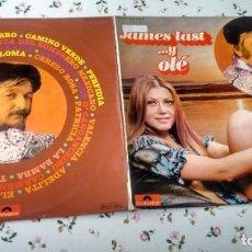 Discos de vinilo: LP ( VINILO) -DOBLE- DE JAMES LAST AÑOS 70. Lote 194651960