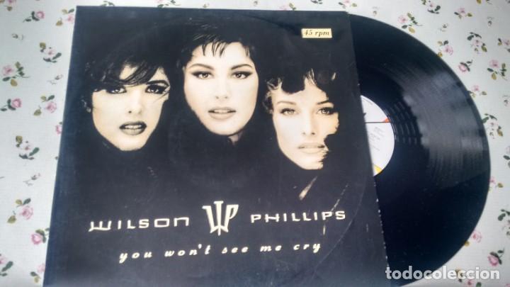 MAXISINGLE ( VINILO) DE WILSON PHILLIPS AÑOS 90 (Música - Discos de Vinilo - Maxi Singles - Pop - Rock Extranjero de los 90 a la actualidad)