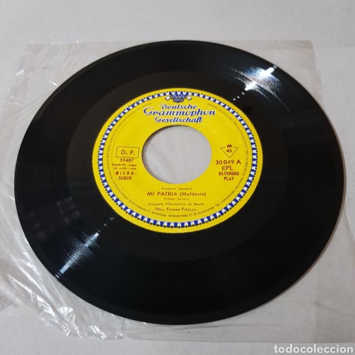 Discos de vinilo: MI PATRIA ( MOLDAVIA ) FRIEDERCH SMETANA - FERENC FRICSAY - ORQUESTA FILARMONICA DE BERLIN - Foto 3 - 194652568