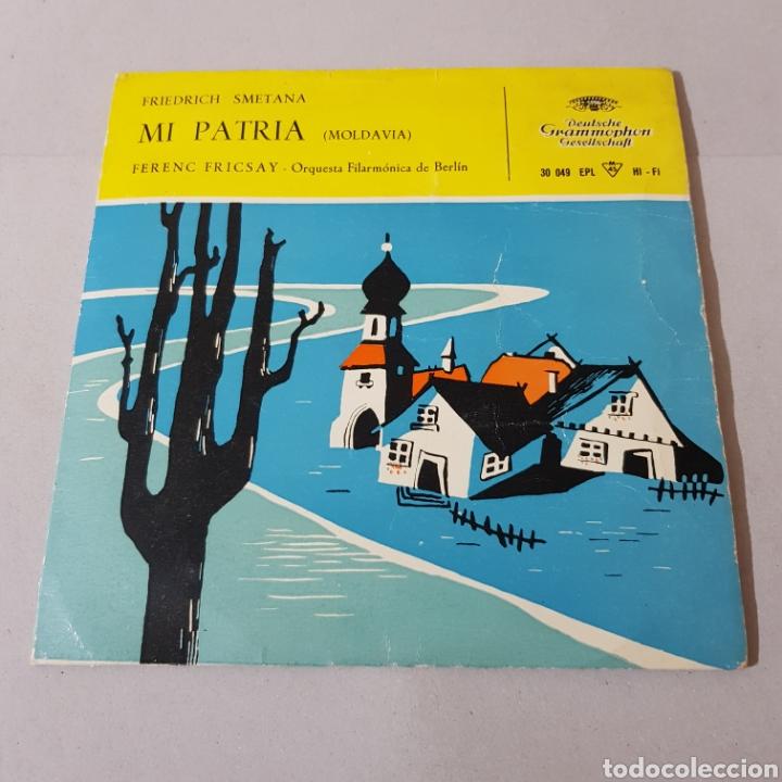 Discos de vinilo: MI PATRIA ( MOLDAVIA ) FRIEDERCH SMETANA - FERENC FRICSAY - ORQUESTA FILARMONICA DE BERLIN - Foto 5 - 194652568